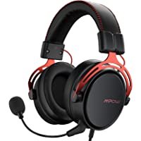 Mpow PS4 Headset Xbox one, Air SE Gaming Headset with mic, Over-Ear Gaming Headphones with 3D Surround Sound, In-Line Control, Multi-Platform Headset for PC/PS4/Xbox One/Switch