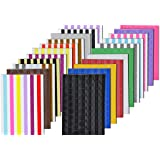 VIPbuy 2244 pezzi (22 colori assortiti) Photo Corner Adesivi Autoadesivi per album di foto, album di ritagli fai da te, 22 fo