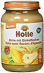Holle Birne mit Dinkelflocken, 6er Pack (6 x 190 g) - Bio