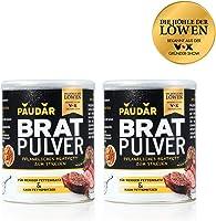 PAUDAR Bratpulver   Vegan, leicht dosierbar   100 % pflanzlich, reduziert Fettspritzer, fettarme Zubereitung von Fisch,...