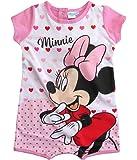 Minnie Mouse Strampelanzug Strampler Disney Kurz Mädchen