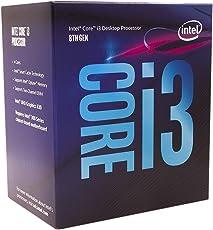 Intel 8Th Generation I3 8100 3.6GHZ Quad Core/ 4 Core/ 4 Threads / Coffee Lake / Lga-1151 Socket / Ddr4
