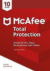 McAfee Total Protection 2018 für 10 Geräte [Online Code] [Online Code]