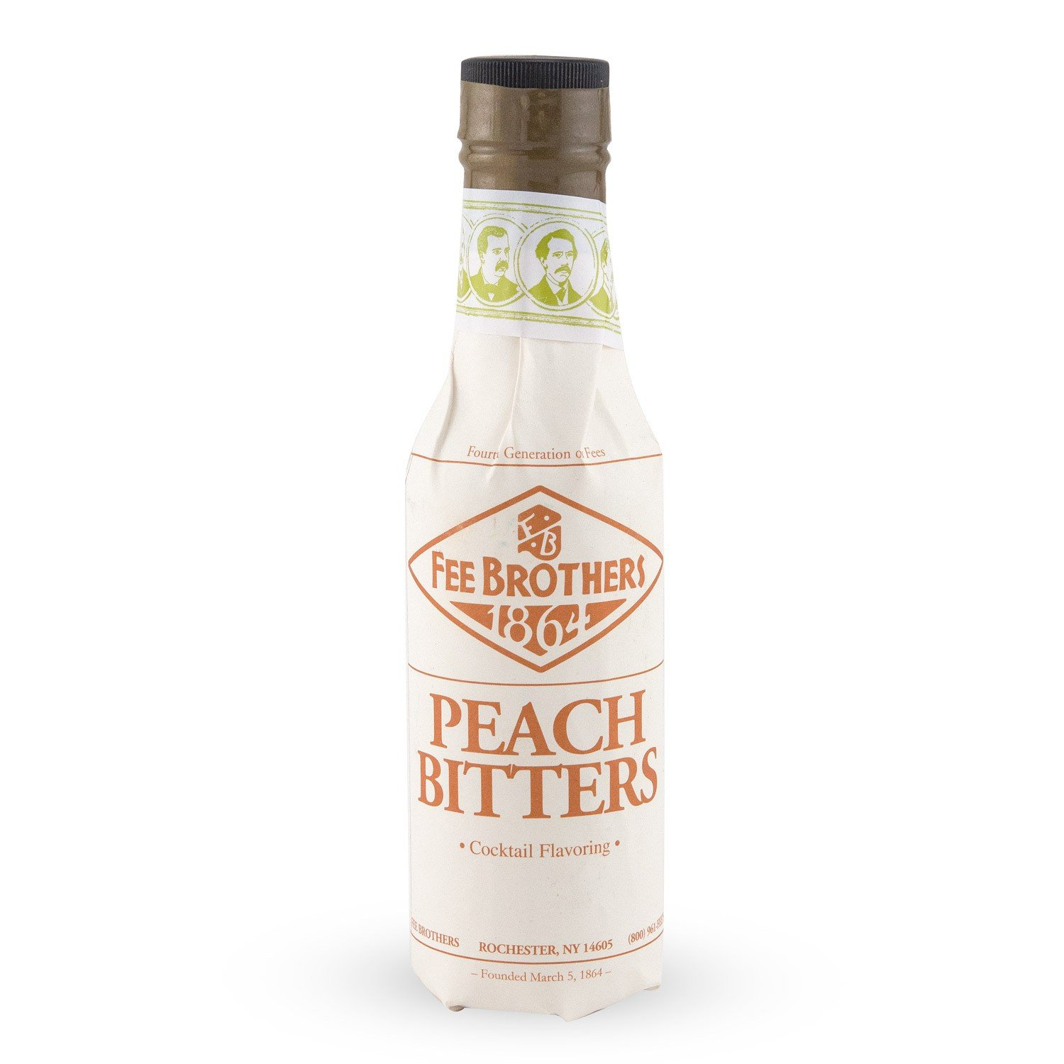FEE BROTHERS 1864 BITTERS PEACH Bitter aromatizzante CL.10