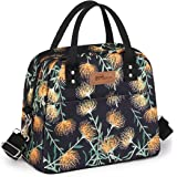 HOMESPON Sac Isotherme Repas Lunch Bag Portable Sac à Déjeuneren Tissu Imperméable Pliable Sac Pique-nique Multi-Usages à l'