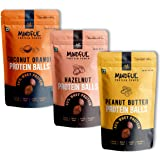 EAT Anytime Mindful Protein Energy Balls Variety Pack, 30% Whey Protein Snack, Healthy Chocolate Balls, Pack of 3-300g…