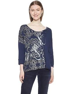 Desigual Woman T-Shirt Tshirt Devore Black 20sotk38 s Black