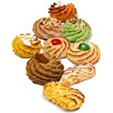 Biscotti siciliani di pasta di mandorle | Box regalo 600 gr | Confezioni sigillate monoporzione | Biscotti assortiti, diretta
