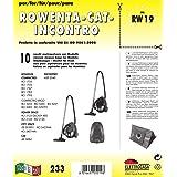 ZZ-Clan 10 Bolsas para aspiradoras Rowenta Compacteo Ergo RO 5253, Bolsas de Polvo (+ 2 filtros - NV624): Amazon.es: Hogar