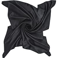 PB Pietro Baldini Bandana bandana – 100% seta – Sciarpa da donna – Vari colori – 55 x 55 cm