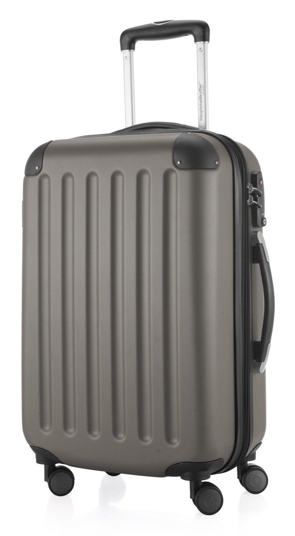 Hauptstadtkoffer – Spree – Hartschalen-Koffer Koffer Trolley Rollkoffer Reisekoffer Erweiterbar, 4 Rollen