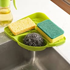 HOME BUY Multipurpose Corner Storage Organizer for Sink - Pack of 1