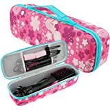 Brappo Hard Travel Case for Revlon One-Step Hair Dryer & Volumizer& Styler (Love)