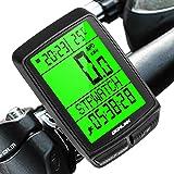 Dichlink Contachilometri Bici Wireless, Contachilometri Bici Senza Fili 5 impostazioni della Lingua Computer da Bicicletta Im
