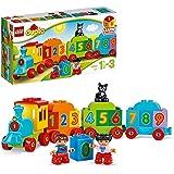 LEGO DUPLO IlTrenodeiNumeri, Set di Costruzioni Premiato con Grandi Mattoncini Numerati,Giocattoli Educativi per Bambini