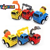 Toyshine Pack of 6 Construction Vehicle Automobile Car Toy Set