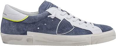 Philippe Model Sneakers Prsx Uomo Jeans/Bleu