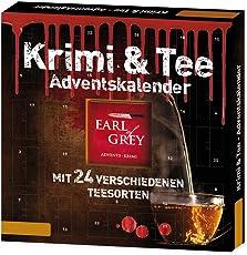Handelshaus Huber-Koelle Roth Krimi & Tee Adventskalender, 1er Pack (1 x 102 g)