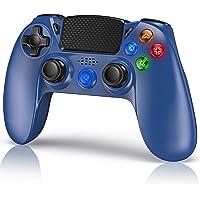 Gamory Joystick Controller per PS4, Blu Controller di Gioco Senza Fili con Joypad del Dualshock per PS4 Slim/PRO/PC…