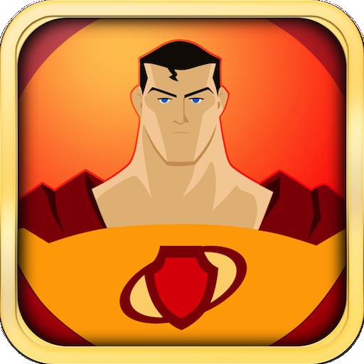 Metropole Ein Licht (Super-Action Heroes Defender War - Amazing Adventures Fliegen Speedball)