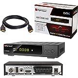 Docooler Decodificador de Receptor de TV DVB-T/T2/C ...