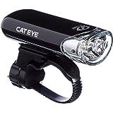 Cateye Hl-El135 led-frontverlichting, glanzend, zwart