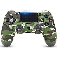Juego Game Controller for PS4, Controller Wireless per Playstation 4 con Joystick di Gioco a Doppia Vibrazione, Verde…