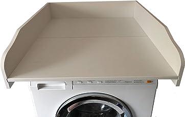 Wickeltischaufsatz weiß, ECO Version, Wickelfläche 60x70cm, Wickelauflage, Wickelkommode, Aufsatz für Waschmaschine oder Trockner