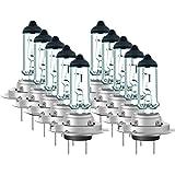 10er Set Luminizer 4040 Halo Autolampe Autolicht H7 PX26d E1 55W 12V UV-Fliter