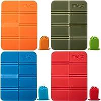 Seat Cushion, 4 cuscinetti termici pieghevoli, 4 cuscinetti per tappetini, insulatori per adulti e bambini, campeggio…
