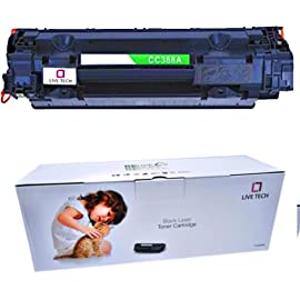 Live Tech 88A Toner Cartridge for HP Laserjet Printer M1136 MFP P1007 P1106 P1108 P1008 M1213nf MFP M126nw MFP M1218nfs…