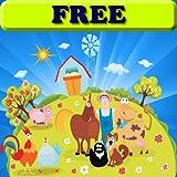 Libro para colorear: la granja para niños pequeños y niños! GRATIS