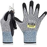 DEX FIT Work Gloves Cru553 (L, Cru553 Grijs 1paar)