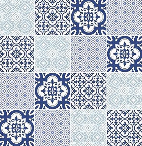 papel-pintado-de-baldosas-de-vinilo-lavable-cocina-bano-blanco-azul-azul-con-ornamentos-ma-7801-mate