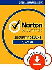 Norton Security Deluxe - 5 Geräte [Kostenlos Testen Subscription]