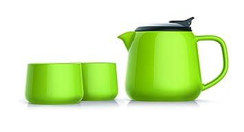 Moderne Teekanne moderne teekanne aus keramik anthracite matt 800 ml amazon de