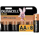 Duracell Plus AA LR6/MN1500 1.5 V Alkaliska Batterier, Paket med 6