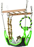 Trixie Suspension Bridge with Hammock for Mice, Hamsters etc. (6298)