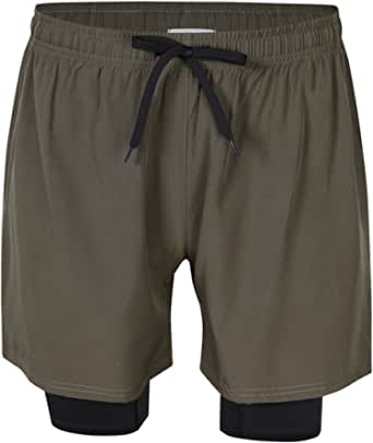 Clearlove Men's Training Running Fitness Sport Pants Shorts