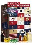 Öl & Essig Adventskalender 2020 I aromatischer Weihnachtskalender Oel Essig mit 24 Überraschungen. Ausgefallenes…