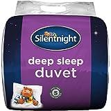 Silentnight Deep Sleep - Edredón Blanco, Microfibra, Blanco, Matrimonio