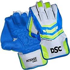 DSC Intense Shoc Cricket Wicket Keeping Gloves Mens
