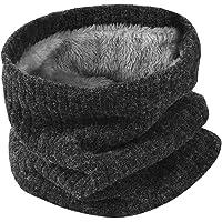 HIDARLING Invernale Berretti in Maglia con Sciarpa Invernale Beanie Set Cappello in Lana Sintetica Calda per Uomo/Donna