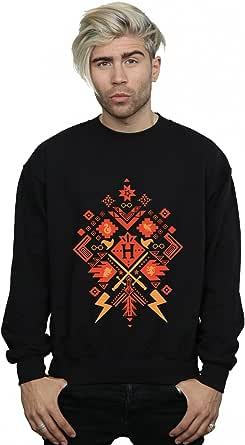 Harry Potter Men's Christmas Fair Isle Sweatshirt