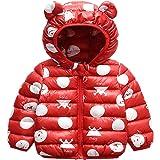 Bebé Chaqueta Invierno, Niños Niñas Abrigo con Capucha Traje de Nieve Manga Larga Outfits Calentar Warmer Regalos Ropa 6 Mese