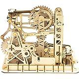 Robotime Puzzle Bois 3D Adulte Ensemble de modèles de cjeux Construction Bois Adulte Montagne Russe mecapuzzle