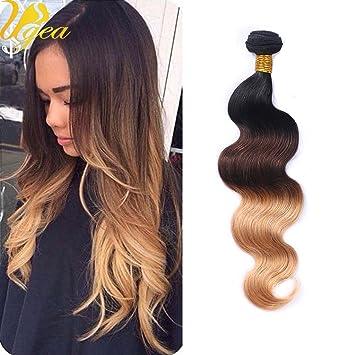 cheveux caramel blond ugeat noir naturel a marron fonce a caramel blond trois ombre tissage. Black Bedroom Furniture Sets. Home Design Ideas