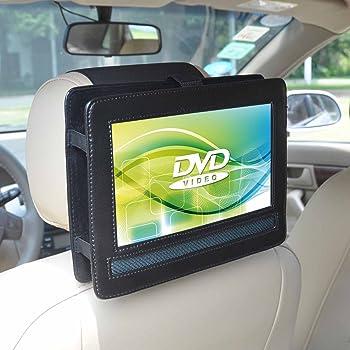 support r glable d 39 appui t te voiture pour lecteurs dvd portables takara div 109 9 pouces. Black Bedroom Furniture Sets. Home Design Ideas