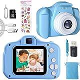 Macchina Fotografica Bambini Giocattoli Regalo per Ragazzi Ragazze 3-10 Anni,Videocamera Digitale Fotocamera per Bambini,Sche