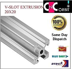2020 V-SLOT ALUMINIUM EXTRUSION OPENBUILDS LINEAR PROFILE, CNC, 3D PRINTERS 20X20 750MM